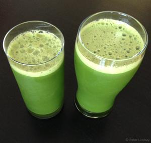 Receita de Suco Verde Desintoxicante