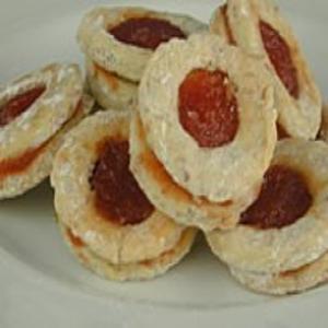 Receita de Biscoito Surpresa de Geléia de Goiaba