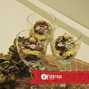 Receita de Taça de Biscoito de Chocolate