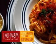 Talharim com Fácil Molho de Tomates