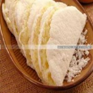 Receita de Tapioca com coco e leite condensado