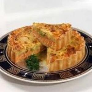 Receita de tarte de bacalhau com cogumelos e alho franc s for Frances culinario
