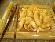 Receita de Tempurá de camarão