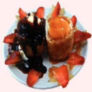 Receita de Tempura de sorvete