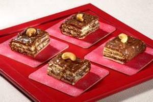 Receita de Tijolinhos Crocantes de Chocolate