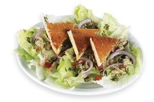 Receita de Toast Salad (Salada Quente)