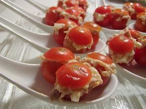 Receita de Tomate Cherry Recheados