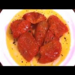 Receita de Tomates assados com queijo