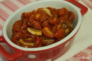 Receita de Tomates Cereja assados