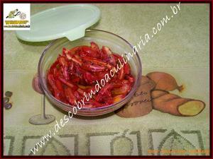 Receita de Tomates Secos no Forno