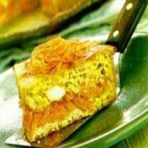 Receita de Torta Cremosa de Grão-de-Bico