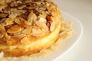 Receita de Torta de Amêndoas (Bienenstich)