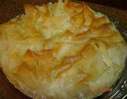 Torta de Bacalhau com Massa Folhada