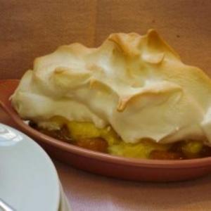 Receita de Torta de banana com merengue