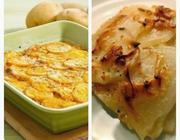 Torta de Batata com Falso Molho Branco