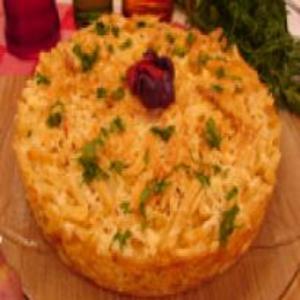 Receita de Torta de batata frita com provolone e salame