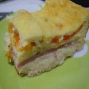 Receita de Torta de Bauru com Massa de Pão de Batata