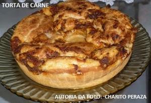 Receita de Torta de Carne al estilo Camagüeyano y Boliviano