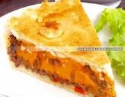 Torta de Carne com Cheddar