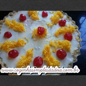 Receita de Torta de Chocolate Branco e Baunilha