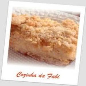 Receita de Torta de Farofa Doce