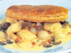 Receita de Torta de frango Claridges