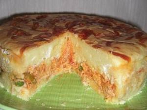Receita de Torta de Frango com Catupiri