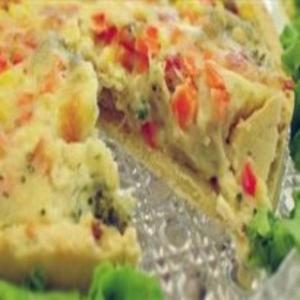 Receita de Torta de legumes com frango