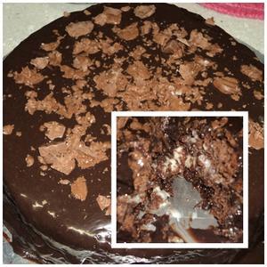 Receita de Torta de leite condensado e chocolate