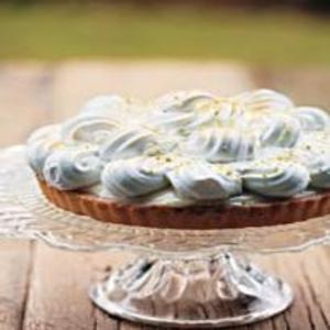 Receita de Torta de Limão com Suspiro