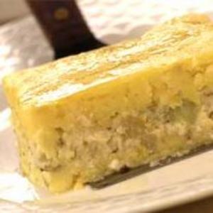Receita de Torta de mandioquinha com queijo-de-minas