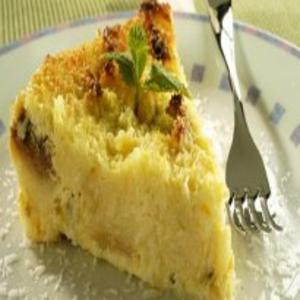 Receita de Torta de maracujá e coco