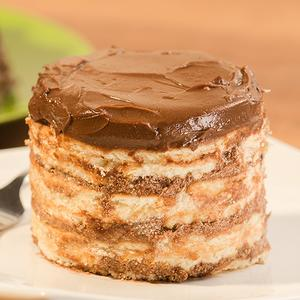 Receita de Torta de Bolacha Maria