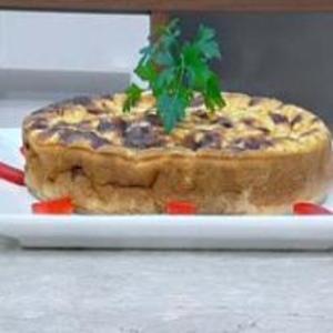 Receita de Torta de Palmito e Queijo