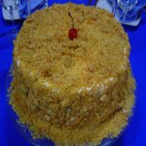 Receita de Torta de Pé de Moleque