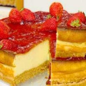 Receita de Torta de Queijo com Geléia