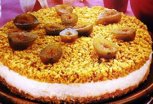 Receita de Torta de Ricota com Figo
