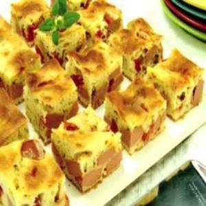 Receita de Torta de Salsicha de liquidificador