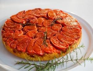 Receita de Torta de Tomates Confitados