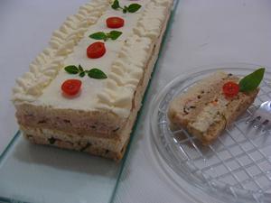 Receita de Torta fria de Natal