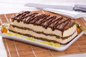Receita de Torta Gelado Crocante com Biscoito Wafer
