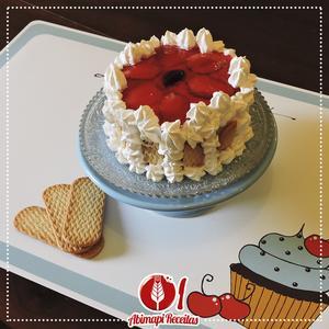 Receita de Torta General do Morango
