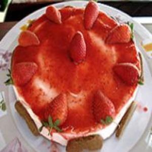 Receita de Torta Holandesa de Morango