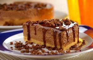 Receita de Torta Mousse Ovomaltine