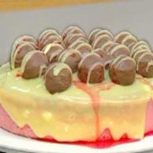 Receita de Torta Natalina de Chocolate e Mousse de Cerejas