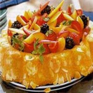 Receita de Torta Perfumada de Frutas