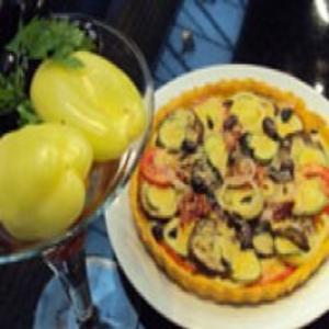 Receita de Torta Ratatouille do Edu Guedes