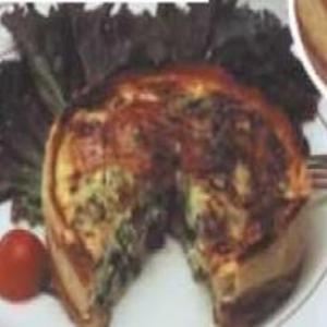Receita de Torta Rústica com e Mozzarella de Búfala