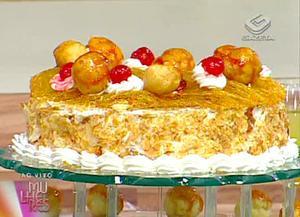Receita de Torta Saint Honore