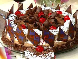 Receita de Torta Sorvete Floresta Negra